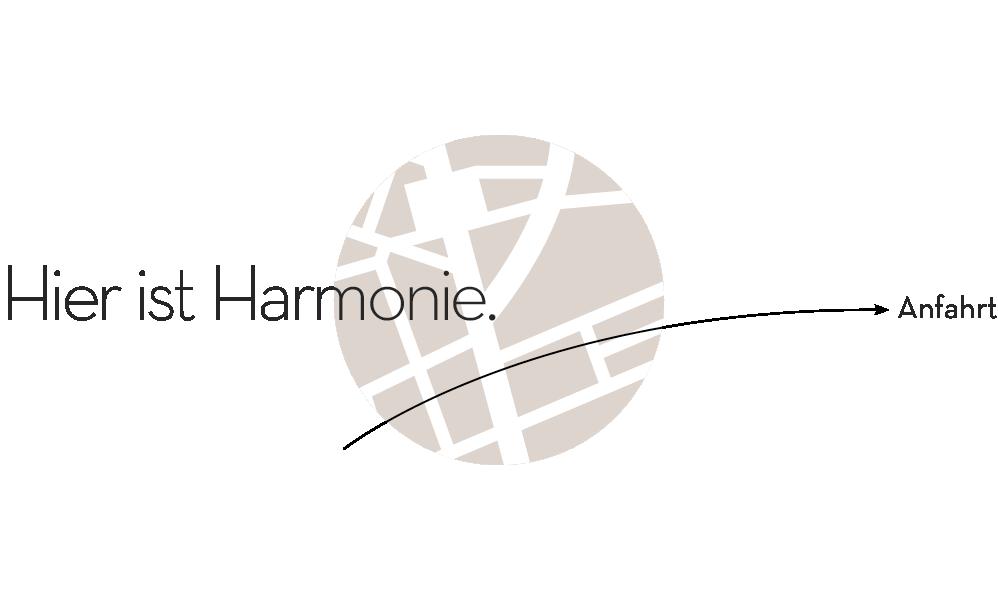 Anfahrt zur Harmonie