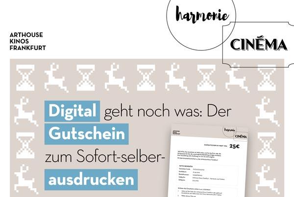 Digital geht noch was: Der Gutschein zum Sofort-selber-ausdrucken